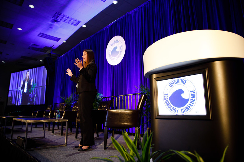 Keynote Speaker Kristie Hartley speaks during The Next Wave: Building Tomorrow?s Leaders in Oil and Gas: Strategies and Ideas to Excel in the Present Day Climate