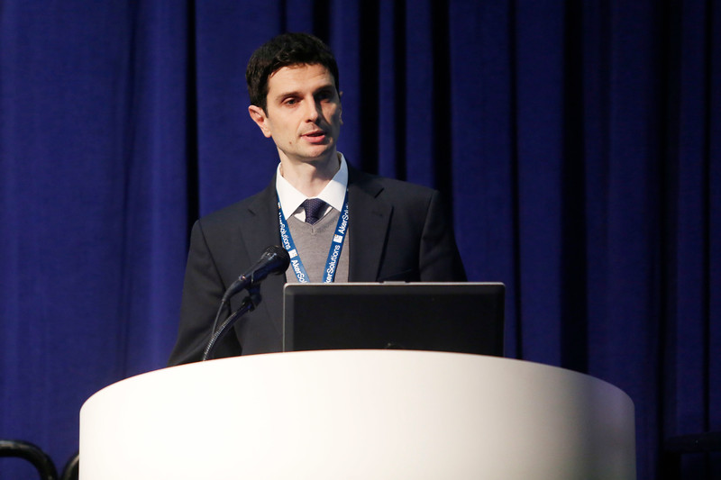 Speaker Marco Gabelloni during the Morning Technical Session: Cost-Effective Solutions for a New Oil and Gas Scenario