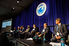 Panelists talk during Afternoon Technical Sessions: Operators Offshore in Brazil: Under a Promising and Positive New Environment