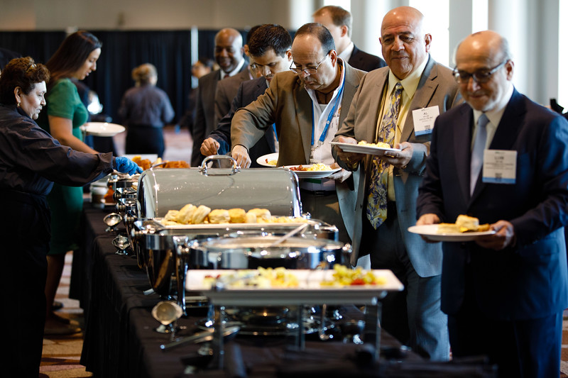 Attendees during Topical Breakfast: New Business Opportunities in Brazil