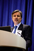 Maxime Rabilloud, President, Total do Brazil, speaks during Afternoon Technical Sessions: Operators Offshore in Brazil: Under a Promising and Positive New Environment