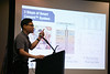Kevin Cho presents Sensytec during Rice Alliance Startup Roundup