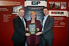 Ikon Science recieves an award for the RokDoc Ji-Fi tool during E&P Award