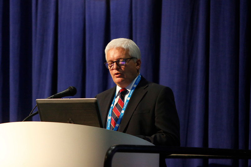 Speaker Michael Wylie during Morning Technical Session: Cost-Effective Solutions for a New Oil and Gas Scenario