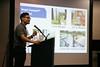 Kevin Cho presents Sensytec during Rice Alliance Startup Roundup