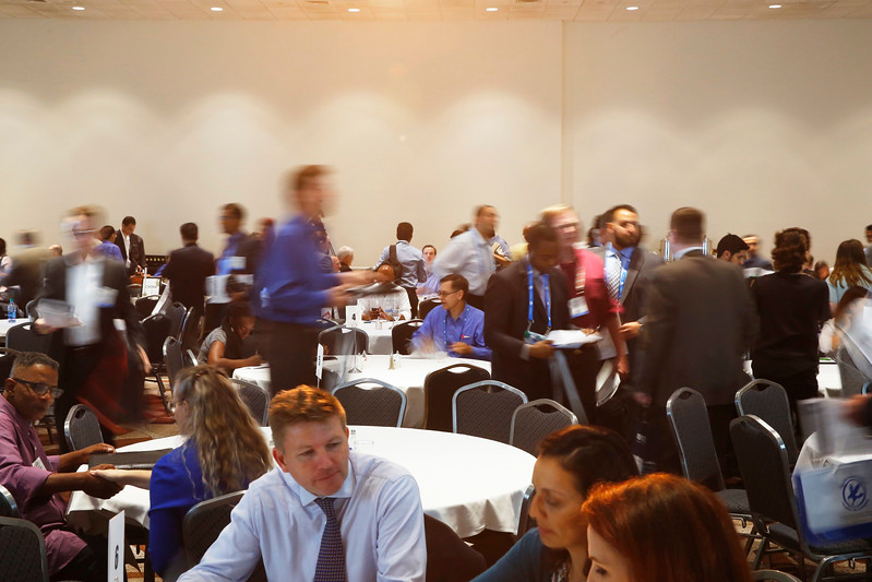 Attendees during Networking Event: 2nd Annual Reaching Out and Reaching Up: Networking in the Downturn