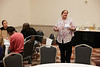 Houston, TX - OTC 2017 - Nina Corley leads a breakout session during the Energy Education Institute: High School Student STEM Event at the Offshore Technology Conference here today, Thursday May 4, 2017. The OTC hosts the meeting at the NRG Park which has over 90,000 attendees from around the world to see the latest technology in the energy industry. Photo by © OTC/Ben Depp 2017 Contact Info: todd@corporateeventimages.com Category: General Views Keywords: General Views