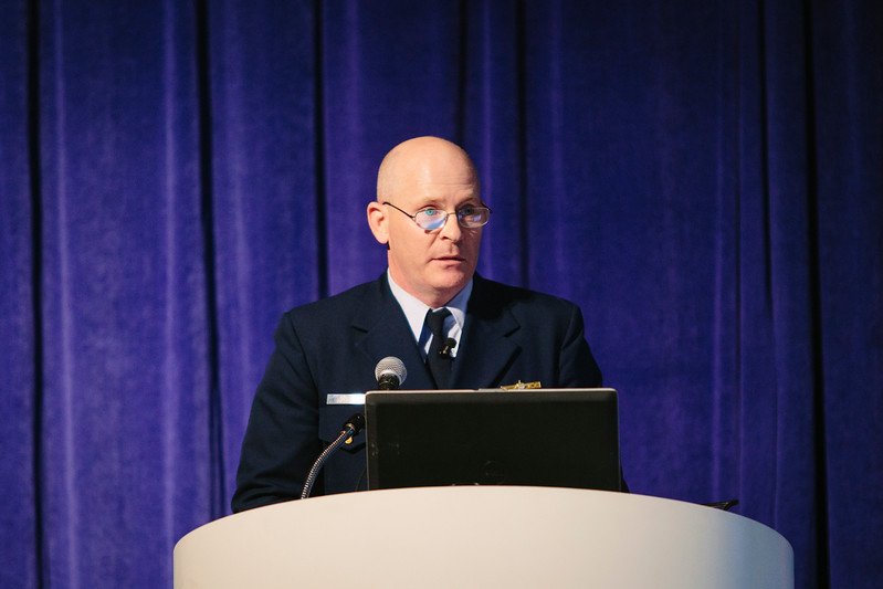 Joshua Reynolds during the Topical Luncheon: Center for Offshore Safety: Perspectives Regarding Safety, Safety Management