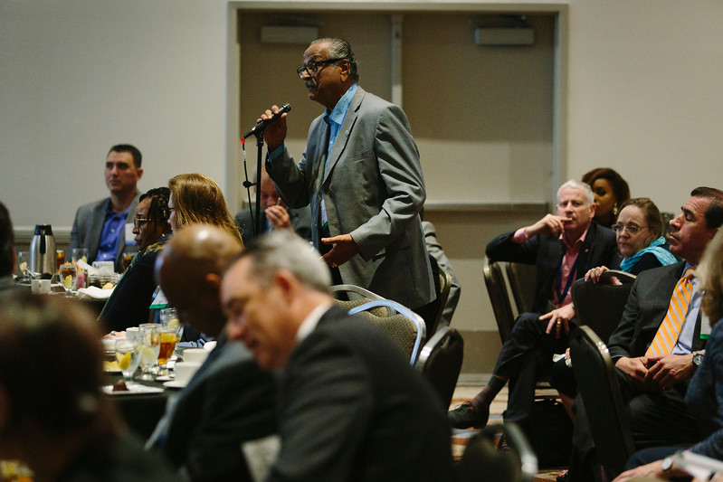 Attendees during the Topical Luncheon: Center for Offshore Safety: Perspectives Regarding Safety, Safety Management