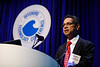 Sudhir Pai speaks during Morning Technical Session:Integrated Geophysical: Advances in Methodologies and Technologies