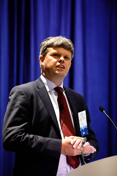 Edwin Verdonk, Vice President of Development, Deepwater, Shell, speaks during Afternoon Technical Sessions: Bringing Upstream Projects to Final Investment Decision (FID)