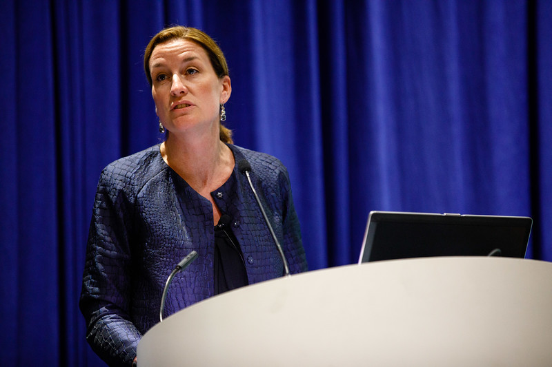 Starlee Sykes, Vice President Projects, Deepwater, BP, speaks during Afternoon Technical Sessions: Bringing Upstream Projects to Final Investment Decision (FID)