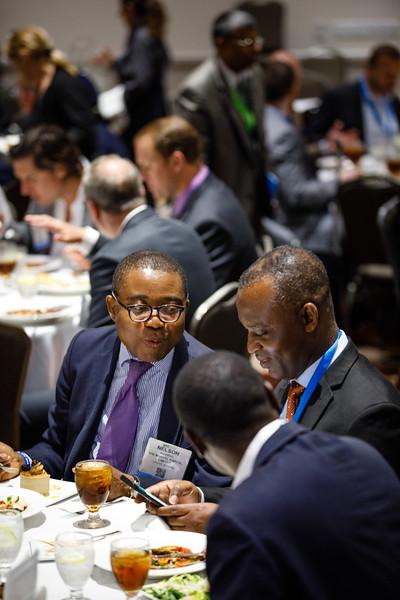 Attendees during Topical Luncheon: Financing Deepwater Development