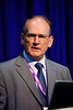 Roger Moore speaks during Morning Technical Session:Integrated Geophysical: Advances in Methodologies and Technologies