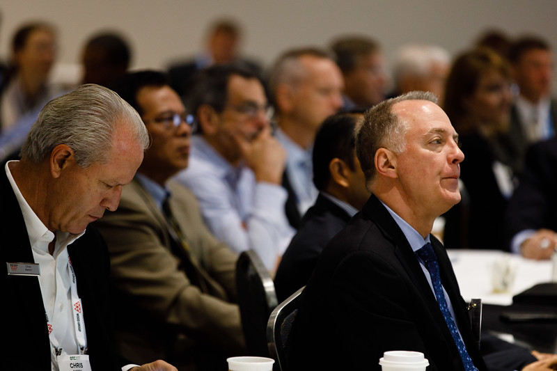 Attendees during Topical Breakfast: Cost Reduction in Offshore Areas: A New Operator Led Framework