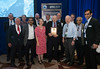 Awardees receive theri plaques during Distinguished Achievement Awards Luncheon
