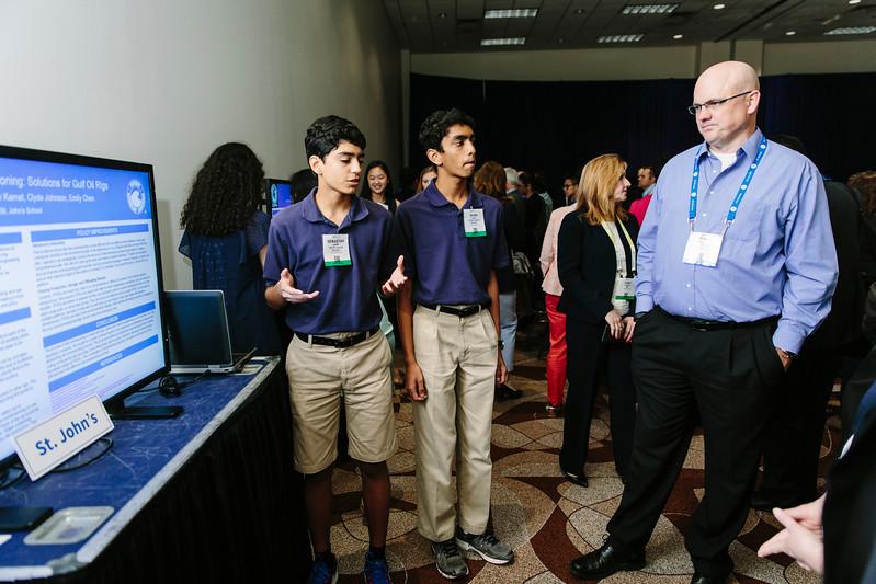 Students during OTC Energy Challenge