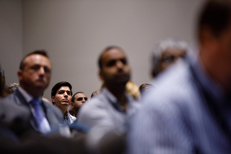 Attendees during Morning Technical Sessions: The Digital Disruption is Here