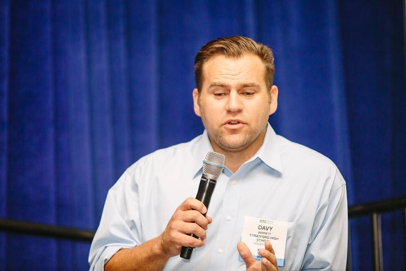 David Barrett during the OTC Energy Challenge