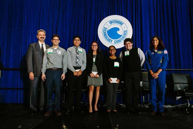 Awards Presentation  during OTC Energy Challenge