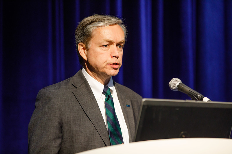 Walter Cruickshank, Acting Director of BOEM, speaks during Topical Luncheon: Offshore Energy Development: Bureau of Ocean Energy Management Perspective