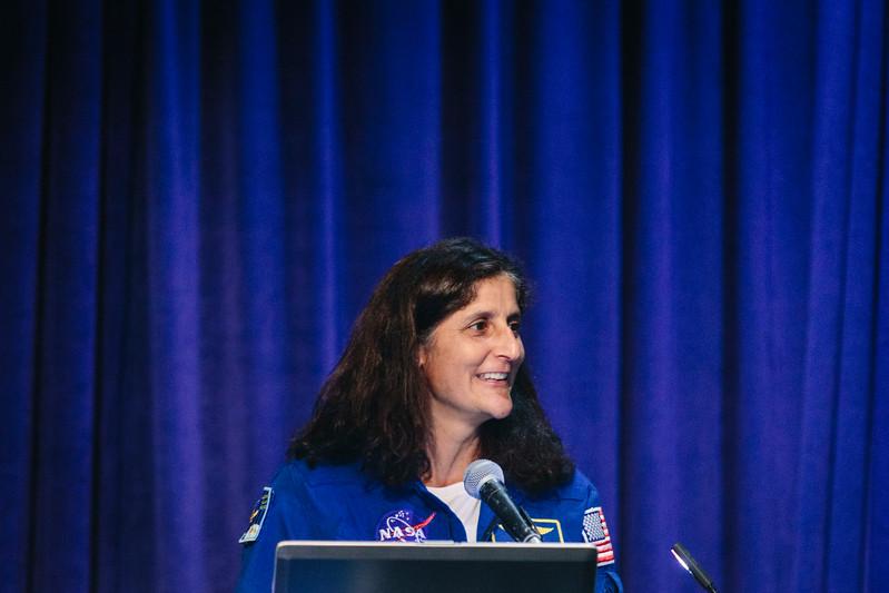 Keynote Sunita Williams during OTC Energy Challenge