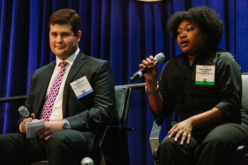 Panelists during OTC Energy Challenge