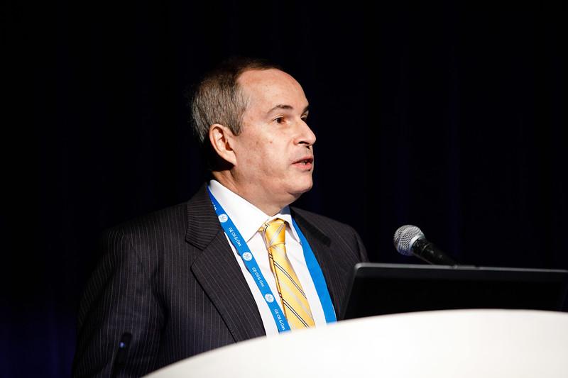 Decio Oddone, General Director, Brazilian National Petroleum Agency ANP, speaks during Topical Breakfast: New Business Opportunities in Brazil
