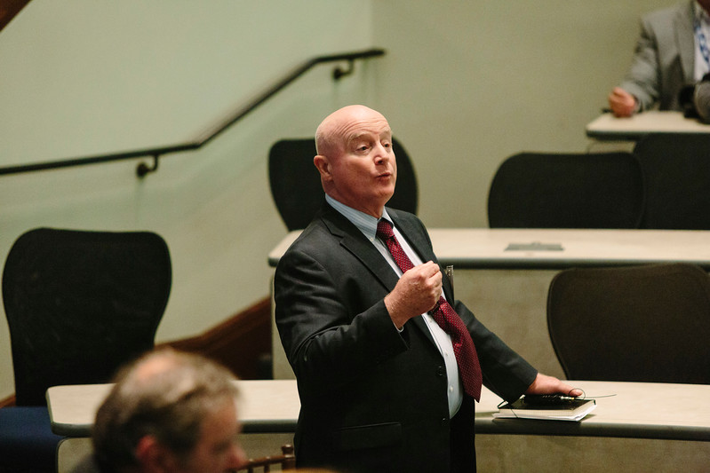 John Howell speals during Closing Remarks