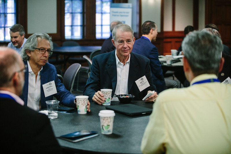 Attendees during Registration/Breakfast