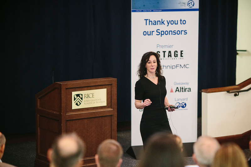 Nina Simosko, President and CEO, NTT Innovation Institute Inc. during General Session 1