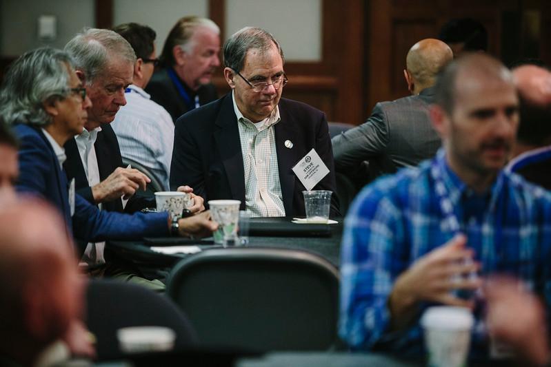 Attendees during Registration/Breakfast