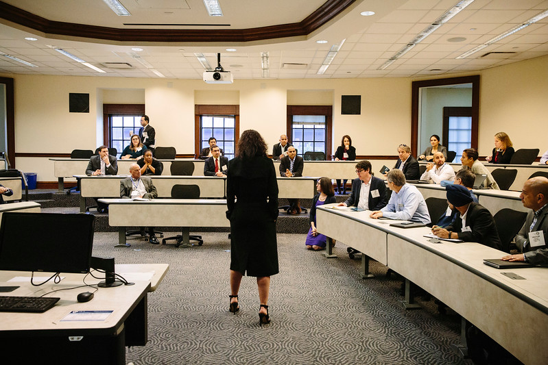 Audience/interactive shots in breakout rooms during Breakout Session 1
