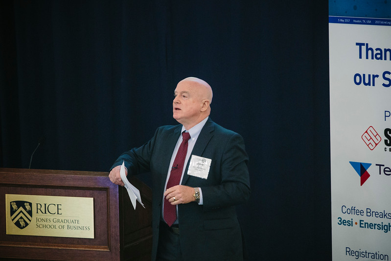 John Howell during Welcome address