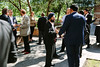 Attendees networking during Networking Reception
