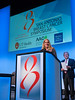 Buffy Swinehart of AFLAC speaks during General Session 3