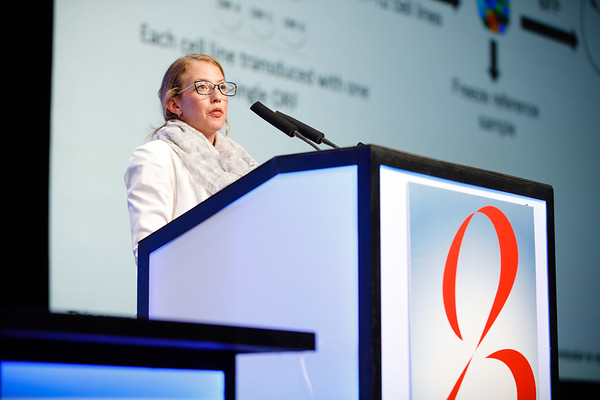 E Powell speaks during the General Session