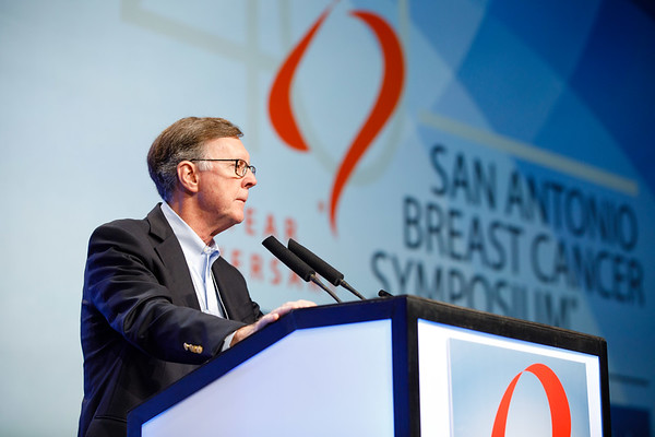 C. Kent Osborne, MD, speaks during the The Year In Review