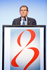 Ramon Parsons, MD, PhD, speaks during the The Year In Review