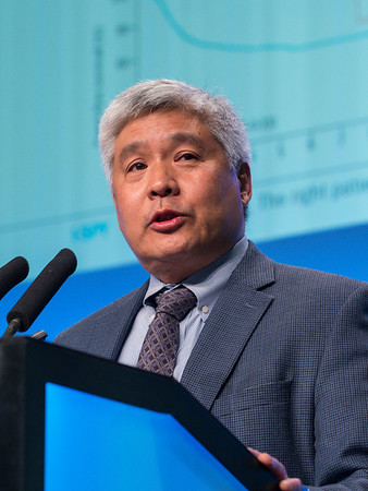 Douglas Yee, MD speaks during General Session 3
