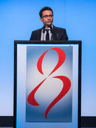 M Lambertini, MD speaks during GENERAL SESSION 4
