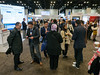 Attendees during Exhibit hall