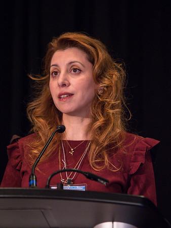 Sana Al Sukhun, MD, MSc speaks during INTERNATIONAL SESSION: Global View of Value Based Medicine