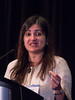 Reshma Jagsi, MD, DPhil speaks during the Education Session: Shifting Paradigms in Radiation Oncology