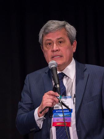 Carlos Arteaga, MD speaks during Workshop: Molecular Biology in Breast Oncology