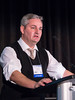 David G. DeNardo, PhD speaks during the Education Session: The Breast Tumor Microenvironment: A Target for Therapy