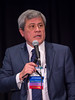 Carlos Arteaga, MD speaks during Workshop: Molecular Biology in Breast Oncology