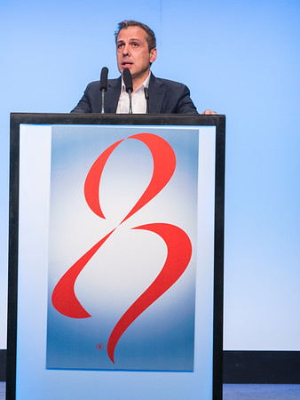 C Sotiriou, MD speaks during GENERAL SESSION 1