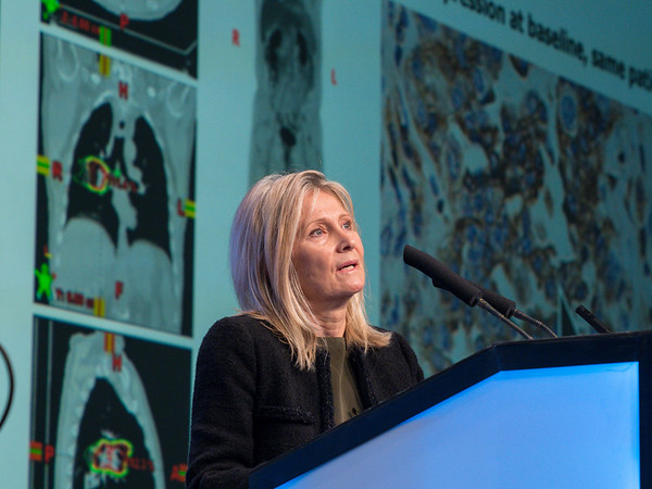 Silvia C. Formenti, MD gives Plenary Lecture 1 during the Opening Plenary Session