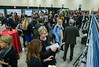 Speakers and attendees during Poster Session 1